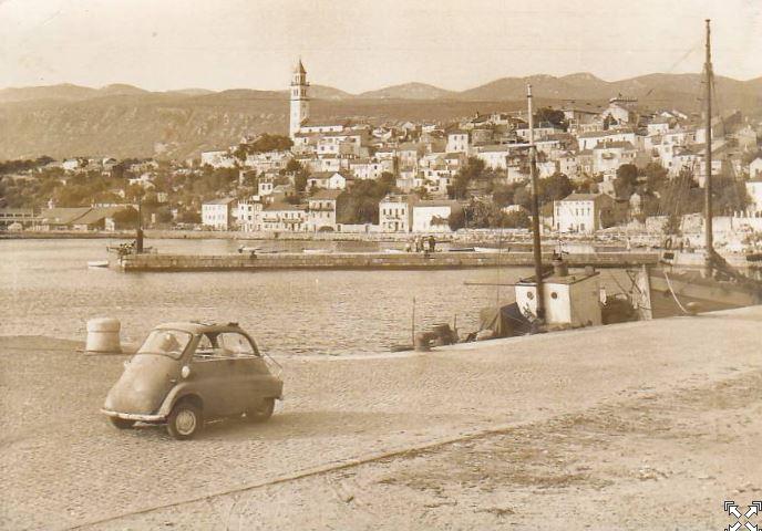 old photo novi vinodolski