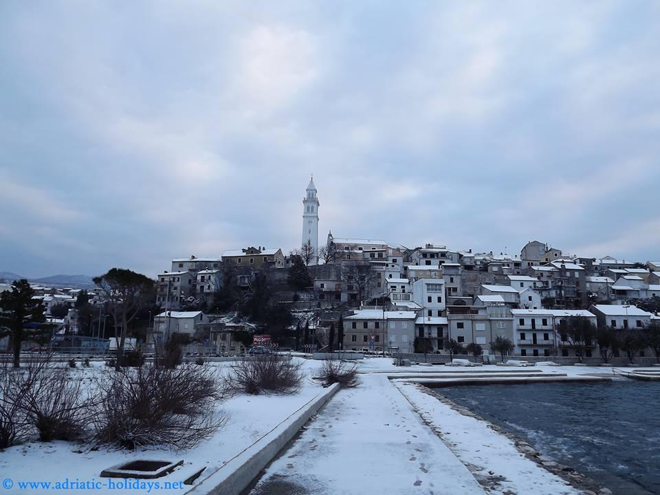 snow novi vinodolski