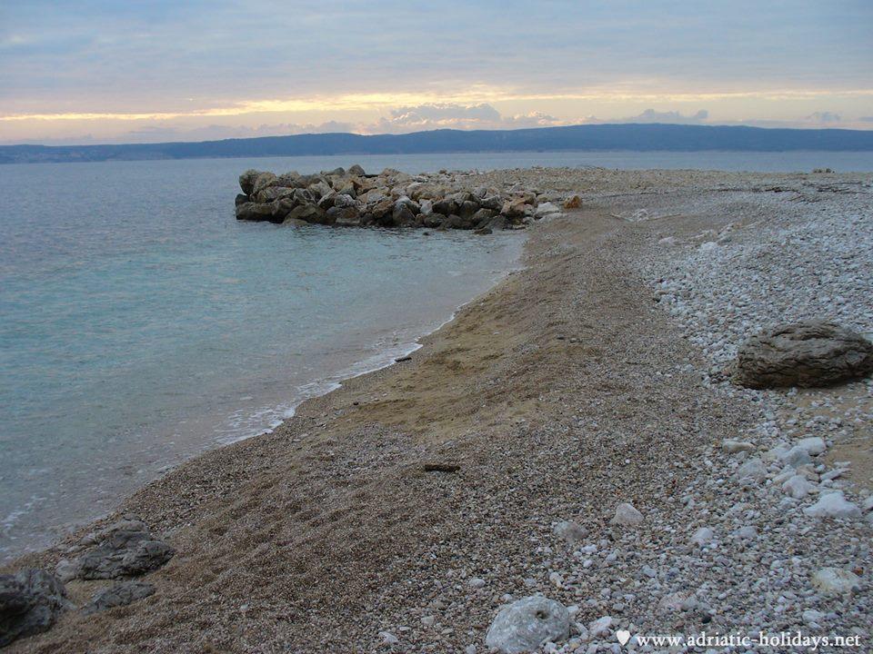 beach in novi vinodolski